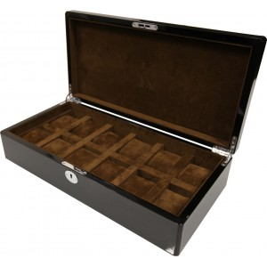 coffret kronokeeper pour 12 montres carbon. Black Bedroom Furniture Sets. Home Design Ideas