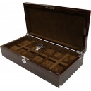 KronoKeeper watch box for 12 watches