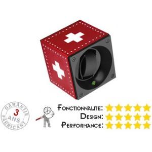 Remontoir pour montre Swiss Kubik Drapeau Suisse