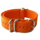 Bracelet nylon NATO ZULU EXTREME Orange